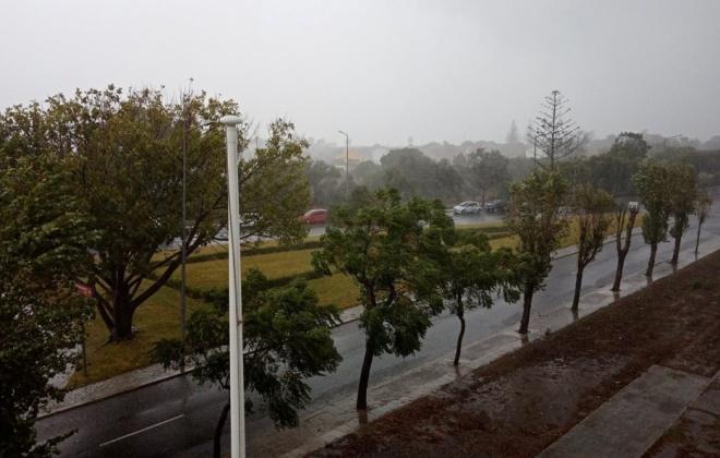 Fim de semana traz chuva, vento forte e risco de cheias a Portugal continental
