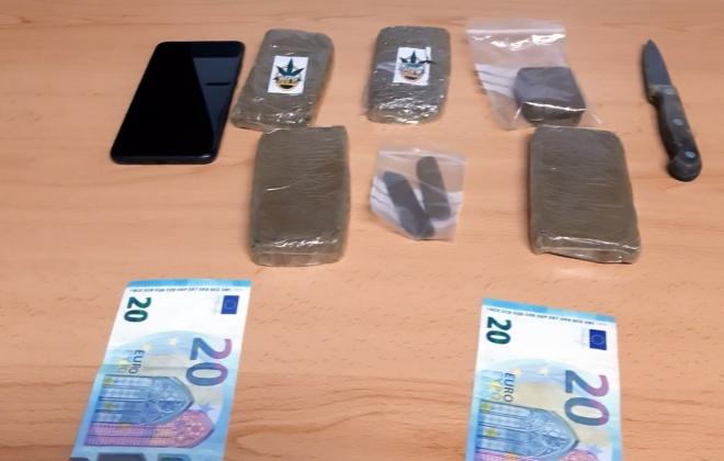 Homem detido em Sines por tráfico de estupefacientes