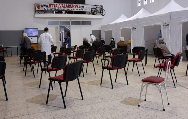 Covid-19: Vacinação já está a decorrer em Alvalade, Santiago do Cacém
