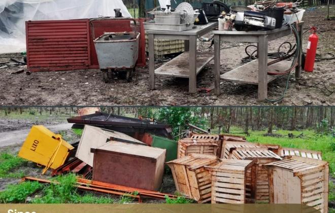 GNR recupera 12 toneladas de metais não preciosos furtados em Sines