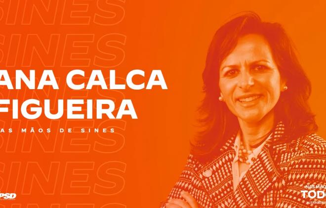 """Autárquicas2021: """"Melhorar o estado do concelho"""" é o objetivo da candidatura de Ana Calca Figueira (PSD)"""