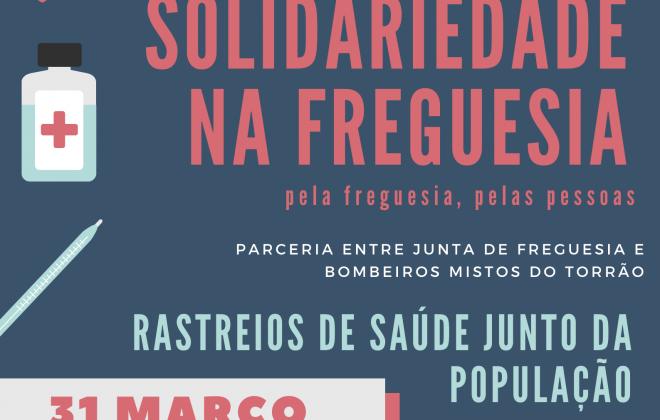 """Freguesia do Torrão realiza iniciativa """"Solidariedade na Freguesia"""""""