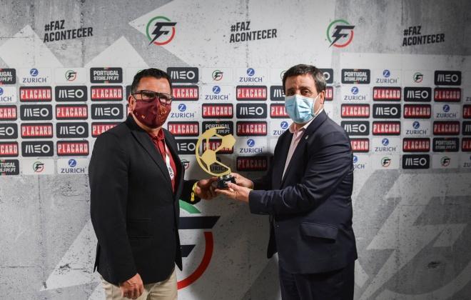 Fundão é o primeiro semifinalista da Taça da Liga de Futsal que está a decorrer em Sines