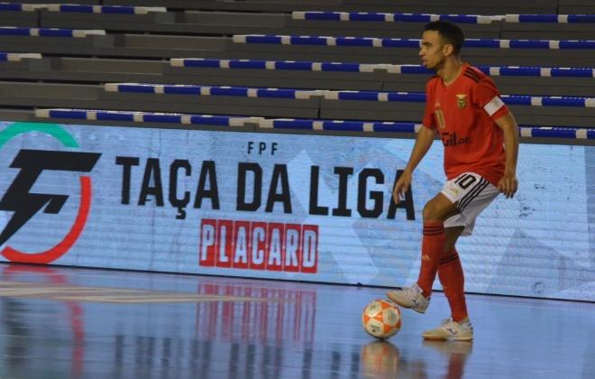 Taça da Liga de Futsal: Benfica vence Leões de Porto Salvo por 4-1