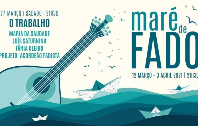 """Maria da Saudade, Luís Saturnino, Tânia Oleiro e o projeto Acordeão Fadista  atuam esta noite no evento """"Maré de Fado"""""""