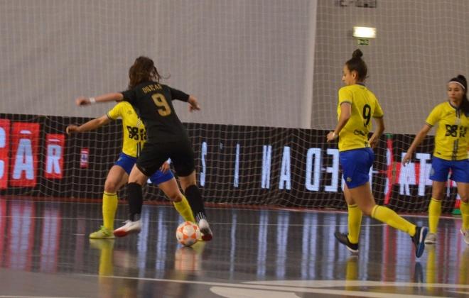 Nun'Álvares está na final da Taça da Liga Feminina de Futsal