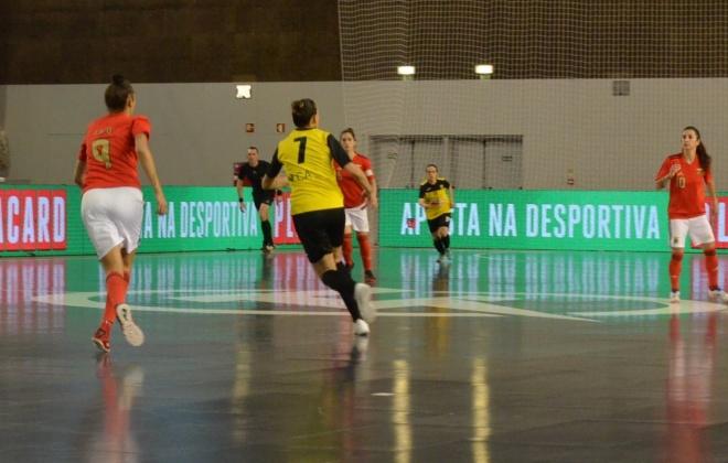 Benfica e Nun'Álvares disputam final feminina da Taça da Liga de Futsal