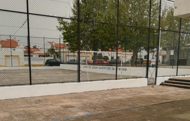 Câmara de Santiago do Cacém realizou manutenção de equipamentos desportivos