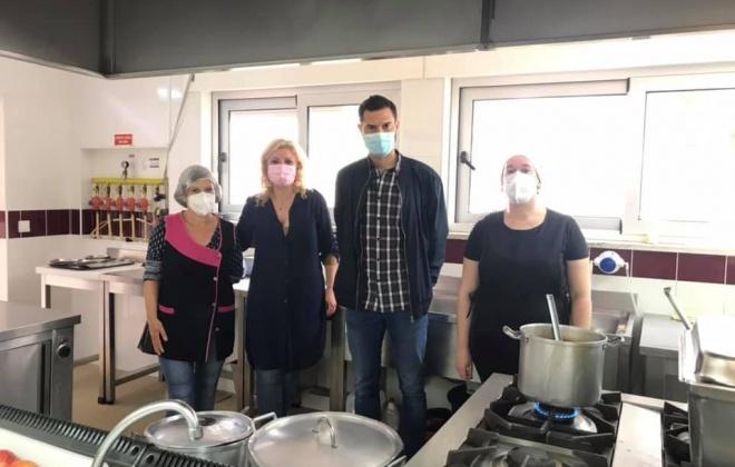 Junta e Nuclisol Jean Piaget entregam 585 refeições às famílias carenciadas de Santo André