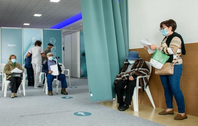 110 idosos foram ontem vacinados em Santa Clara-a-Velha, Odemira