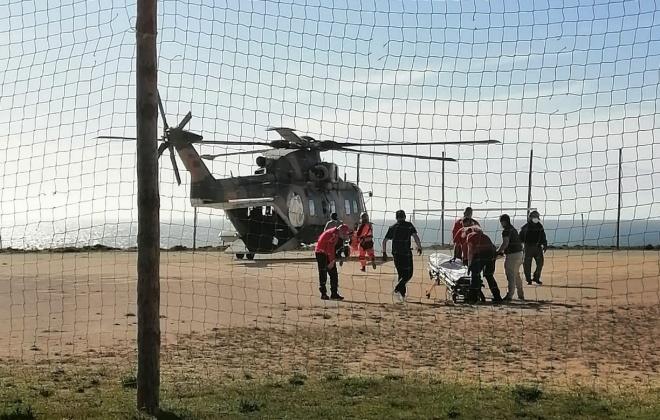 Homem sofre ferimentos graves em praia de Odemira