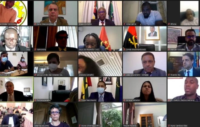 Cidades de língua portuguesa unidas por Moçambique