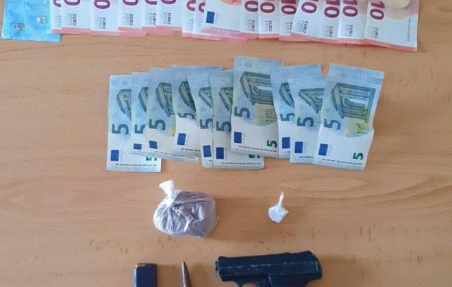 Homem detido em Ferreira do Alentejo por tráfico com mais de 800 doses de droga