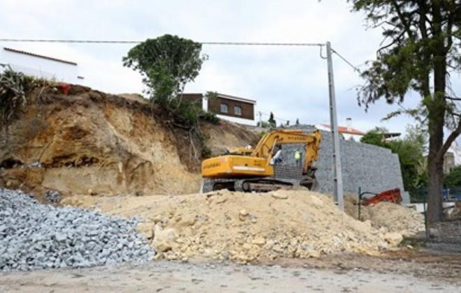 Grândola avança com a construção de estrutura de suporte de talude junto à Olaria de Melides