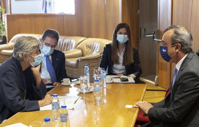 Embaixadora de Espanha em Portugal visitou ontem o concelho de Sines