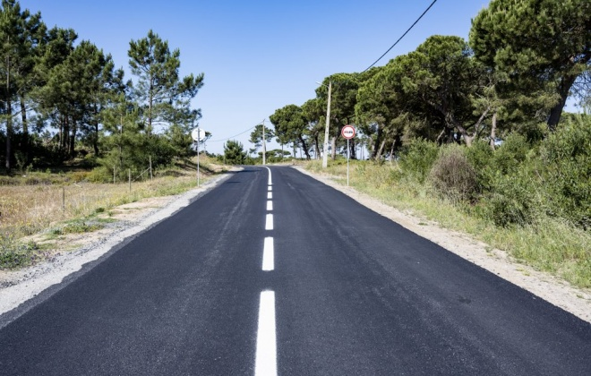 Estrada da Ribeira dos Moinhos está concluída anunciou a C.M. de Sines