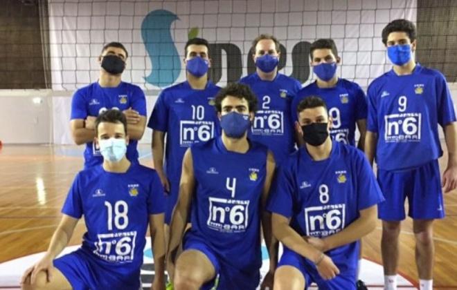 Voleibol do Ginásio Clube de Sines já recomeçou a época