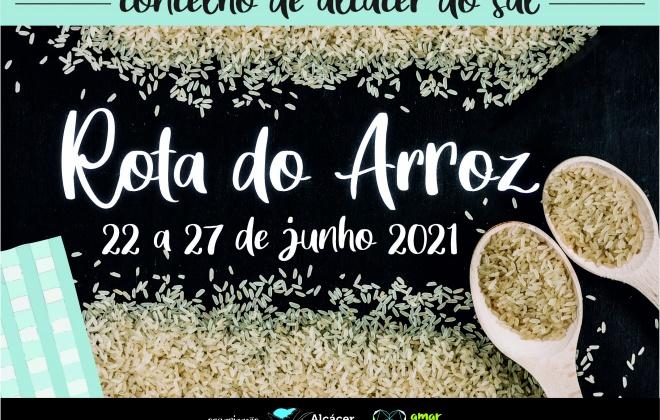 """Alcácer do Sal promove a """"Rota do Arroz"""" de 22 a 27 de junho"""