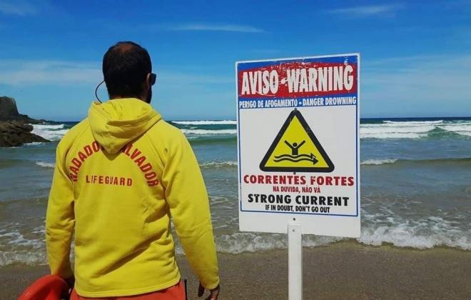 Praias de Odemira já têm vigilância de nadadores salvadores