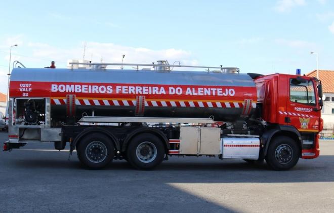 Incêndio consumiu área agrícola no Monte da Espada, em Ferreira do Alentejo