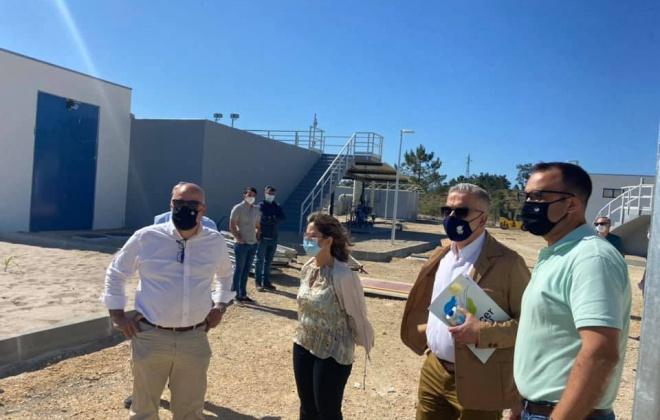 Obras de construção da ETAR da Comporta continuam a bom ritmo