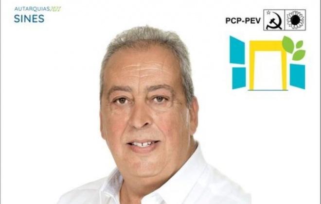 Jaime Cáceres é hoje apresentado como candidato da CDU à C.M. de Sines
