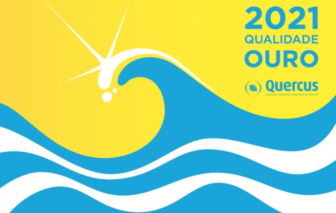 Praia de São Torpes recebe cerimónia oficial do Hastear da Bandeira Qualidade de Ouro 2021