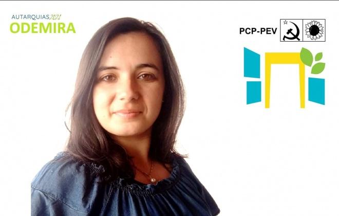 Autárquicas2021: Sara Ramos é hoje apresentada com candidata da CDU à C.M. de Odemira