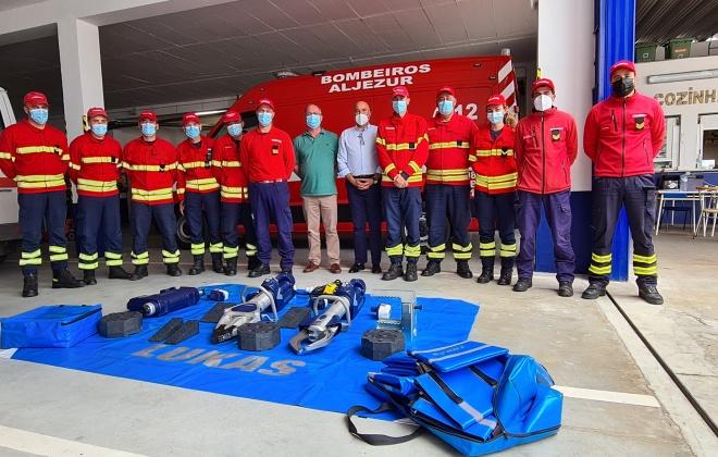 Município de Aljezur reforça o apoio aos bombeiros no âmbito do combate aos fogos florestais