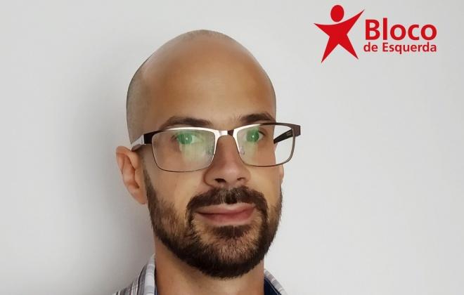 Autárquicas2021: Olavo Tavares é o candidato do BE à União de Freguesias de Santiago do Cacém