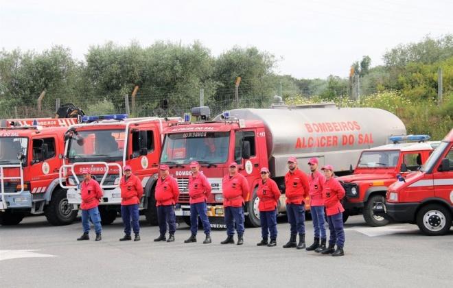 Bombeiros de Alcácer do Sal vão contar com uma Equipa de Intervenção Permanente