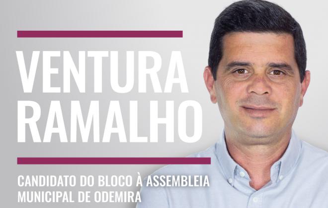 Autárquicas2021: Ventura Ramalho é o candidato do BE à Assembleia Municipal de Odemira
