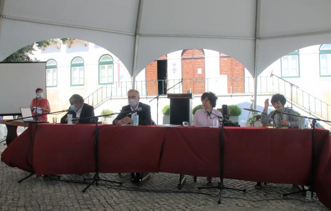 Catálogo do Museu Municipal Pedro Nunes apresentado ao público