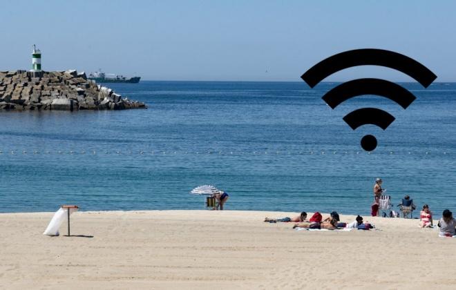 Praia Vasco da Gama em Sines conta com wi-fi gratuito