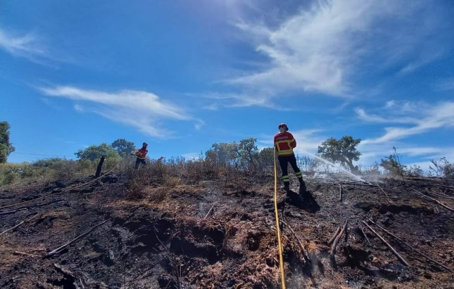 Dispositivo de combate a incêndios é hoje reforçado com mais operacionais