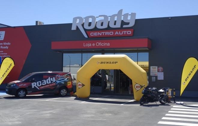 Roady inaugura hoje a loja em Sines