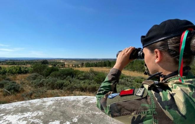 Forças Armadas empenham 50 militares na prevenção de fogos até setembro