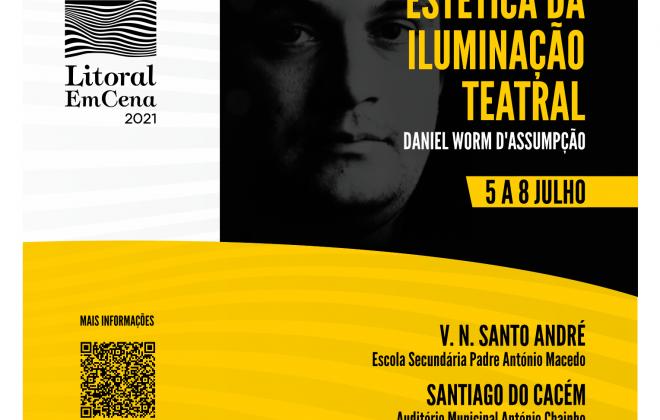 Litoral EmCena promove workshop sobre iluminação de cena entre 5 e 8 de julho