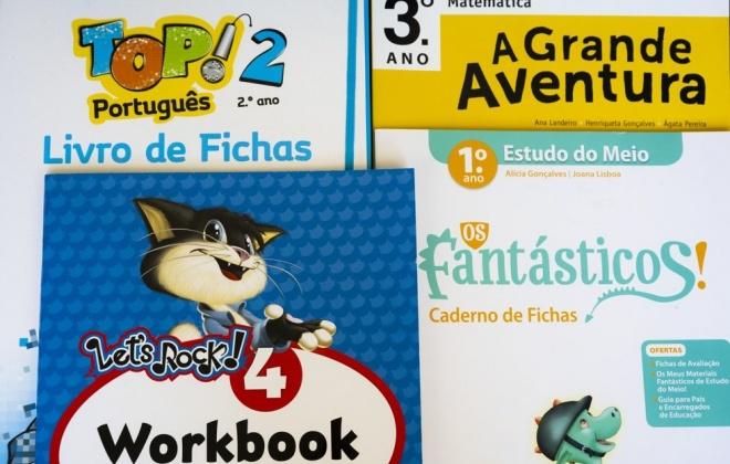 Sines oferece os livros de fichas a todos os alunos do 1.º ciclo do ensino básico do concelho