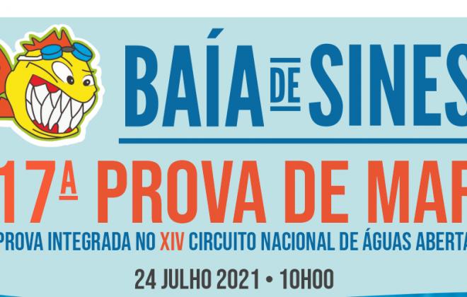 CNLA realiza a 17.ª Prova de Mar Baía de Sines dia 24 de julho em Sines