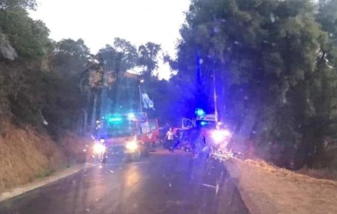 Despiste provoca três feridos em Sabóia, Odemira