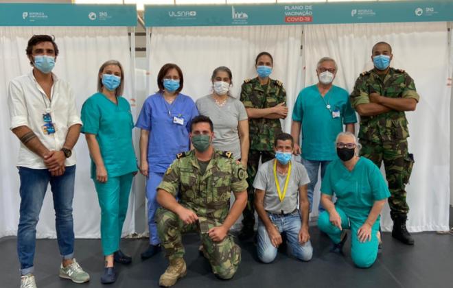 Forças Armadas apoiam vacinação contra a Covid-19 no Alentejo