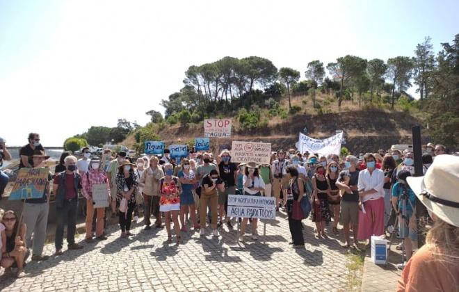 População manifesta-se contra a escassez de água em Odemira