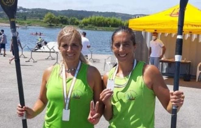 Maria Amador e Teresa Fernandes sagraram-se vice-campeãs nacionais de canoagem