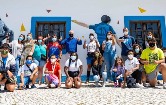 Volta a Portugal a Correr pelos direitos das crianças chegou hoje a Sines