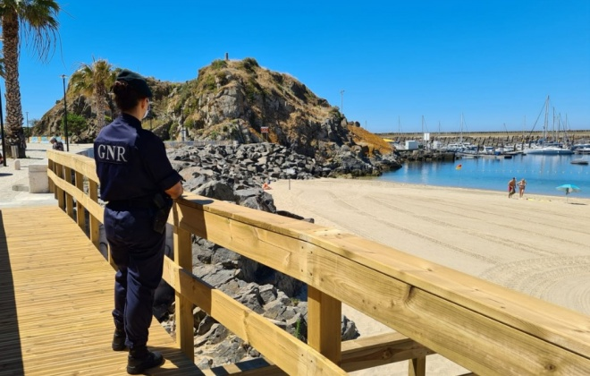 GNR de Sines reforça policiamento junto à costa