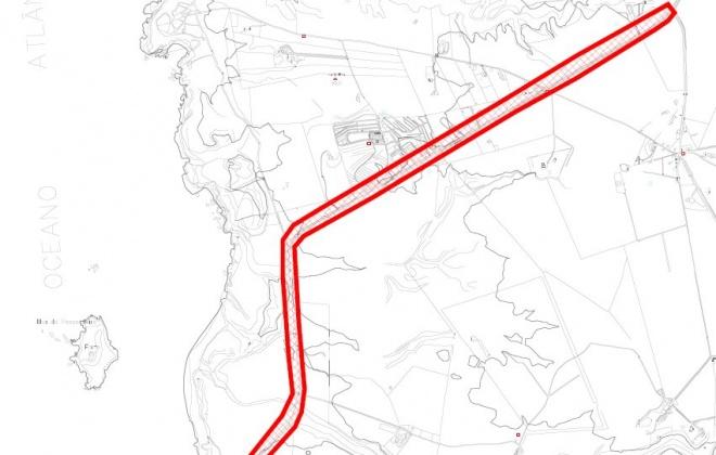 Condicionamento de trânsito na estrada da Ilha do Pessegueiro