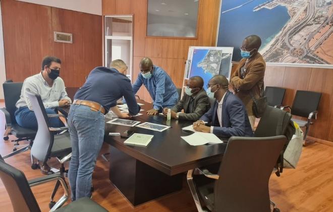 Porto de Sines recebe comitivas de Portos Angolanos
