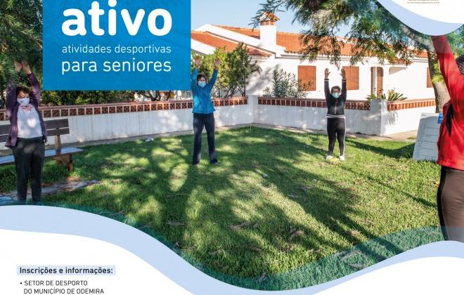 Município de Odemira retoma Viver Ativo com aulas de desporto sénior